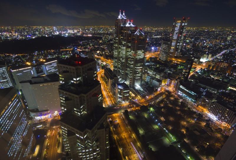 新宿からの夜景