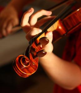 「きらら館でヴァイオリン・コンサート?」